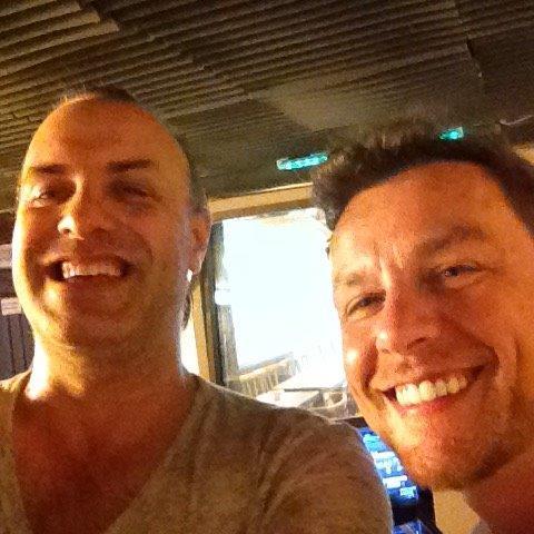 Rudy Gybels en Andy Bens