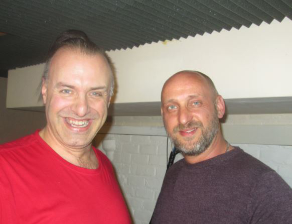 Rudy Gybels en Daniël Van der Wee