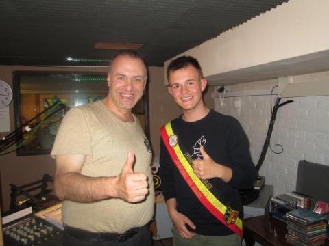Rudy Gybels en Bjarne