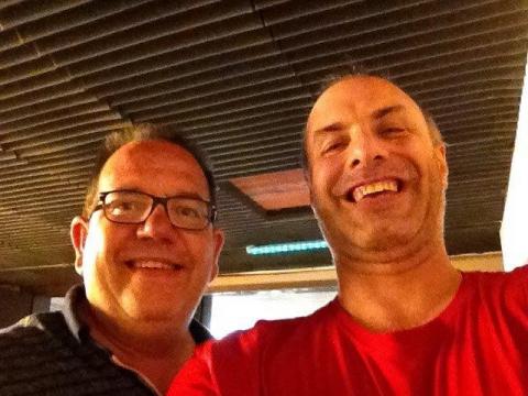 Rudy Gybels en Erik Van Roelen