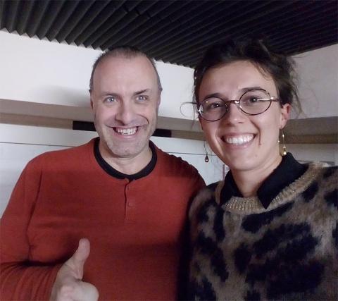 Rudy Gybels en Lowieze Lenaerts