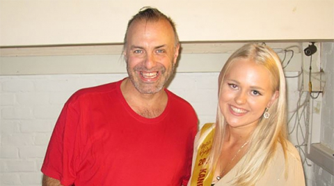 Rudy Gybels en Sanne Van Baelen