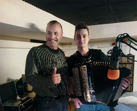 Rudy Gybels en Leander Kovac