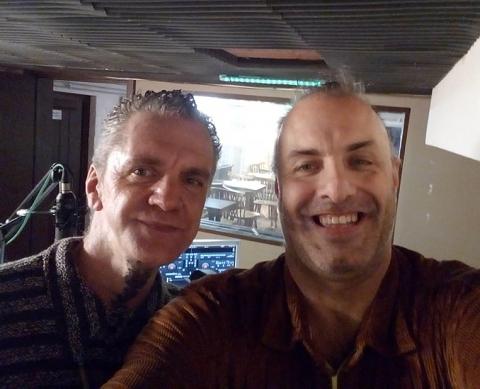 Rudy Gybels en Patrick Theunis