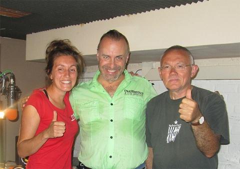 Rudy Gybels met Julie & Johan