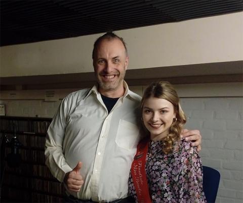 Rudy Gybels en Ilana Schelfhaut