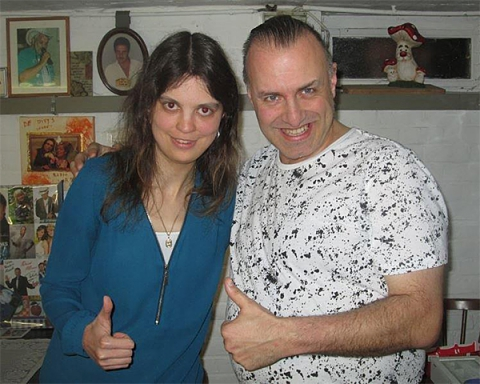 Sarah en Rudy Gybels