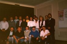 Radio Atlantis team, 1988