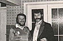 Galaxy en zanger Moustache