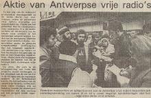 Artikel: Aktie van Antwerpse vrije radio's