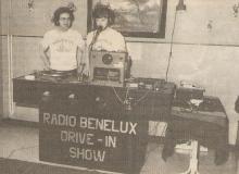 Carlo Hendrickx (links) en Jos Kenens in de prille beginperiode (1980)