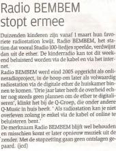 Bron: Het Nieuwsblad, donderdag 26 februari 2009