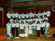 Het Radio CARINA Team in 1982