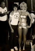 De Nederlandse zangeres Vanessa trad in 1983 op op het verjaardagsbal van Radio CARINA
