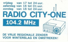 Radio City-One Winterslag