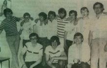 Het Radio Delmare team, 1982