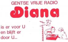 Sticker Radio Diana Gent