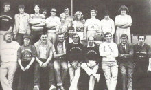 Het Radio Firenze team, 1982
