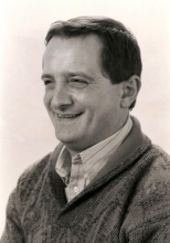 """Luc Van Brabant verzorgde het zoekertjesprogramma """"Postbus 50"""", elke weekdag tussen 10:00 en 11:00 uur."""