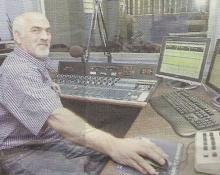Joe Nouga in de live-studio (2004)