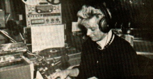 Rina Gubanski tijdens haar programma (1989)