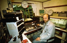 Radio Montana Grobbendonk, studio, oktober 2000