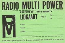 Radio Multi Power Hoeselt