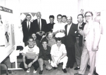Het Palermo team in 1982