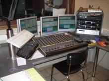 Radio Brouwer Oudenaarde de studio oktober 2008