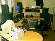 De produktie- / nieuwsstudio (2003)