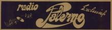 Radio Palermo sticker