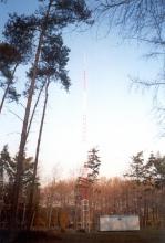 Radio Sweetlove, antennemast