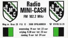 Radio Mini-Cash Opglabbeek FM 102.2