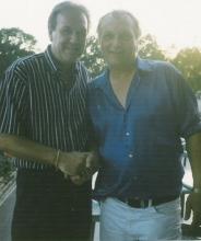 Roger Schapmans (Roger Davis) & Danny Fabry, juli 1998