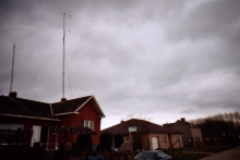 Radio Sentinel, antennemast
