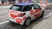 Radio Story FM, promowagen