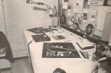 Radio Sylvania Tienen, de studio