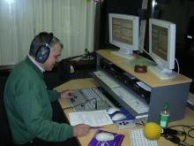 Gunnar Walgraeve tijdens zijn programma op dinsdagavond (september 2004) Scoplia Aarschot