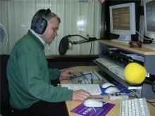 Gunnar Walgraeve tijdens zijn programma (2005)