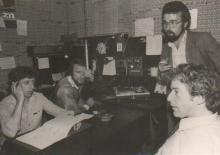 Will Tura op bezoek bij Radio Atlantis (1981)