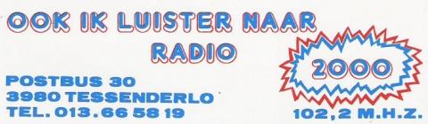 Radio 2000 Tessenderlo