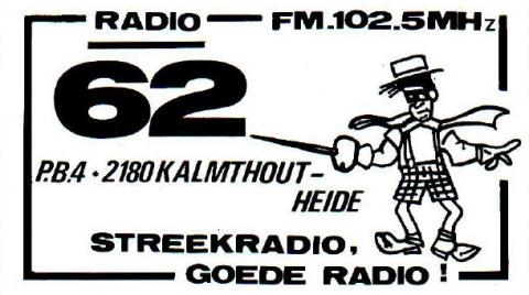 Radio 62 Kalmthout