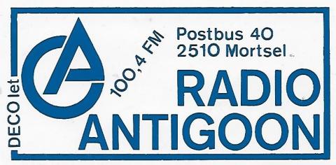 Radio Antigoon Antwerpen FM 100.4