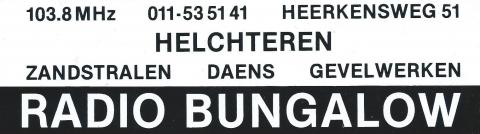 Radio Bungalow Helchteren